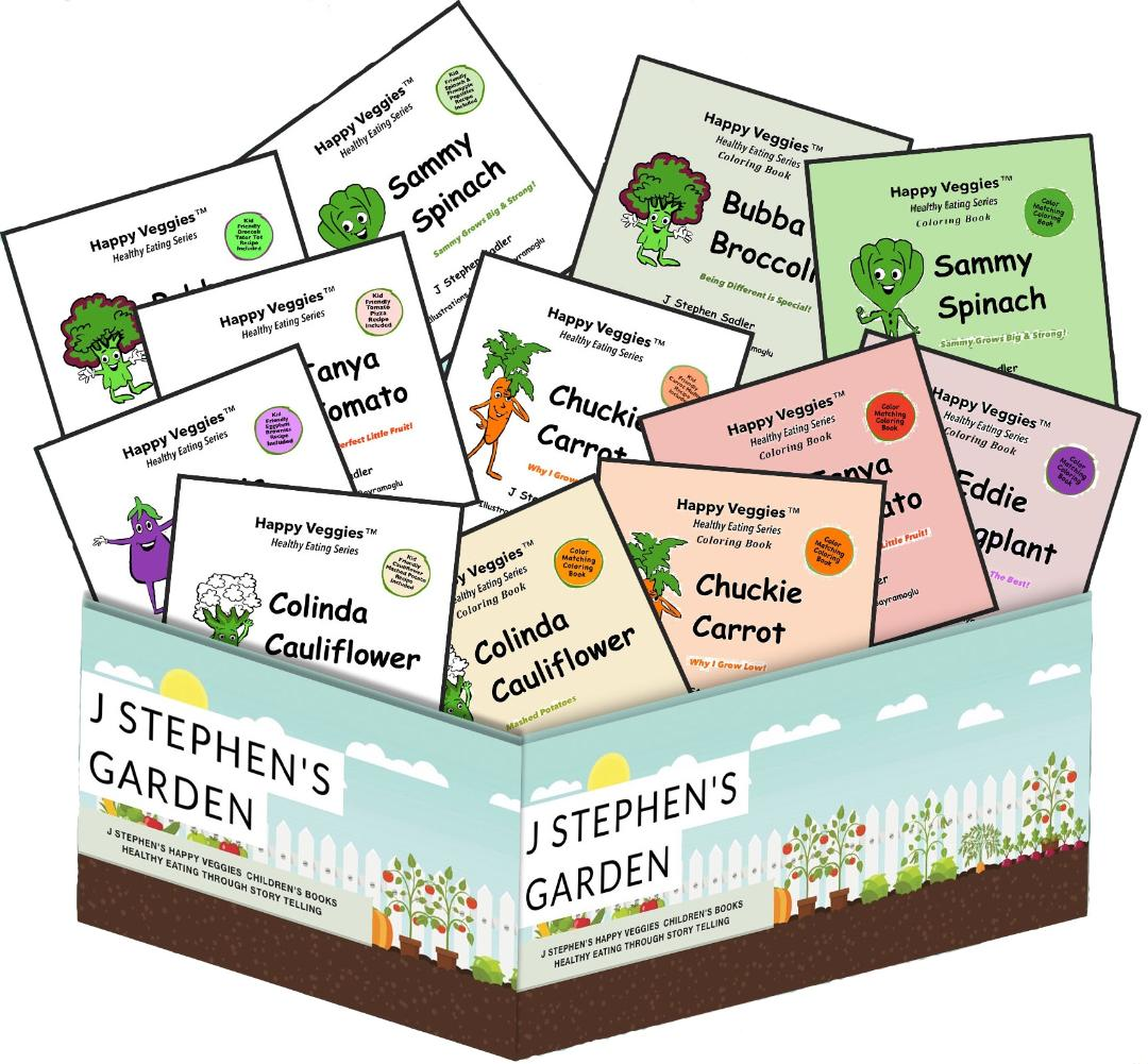 J Stephens Garden Childrens Books