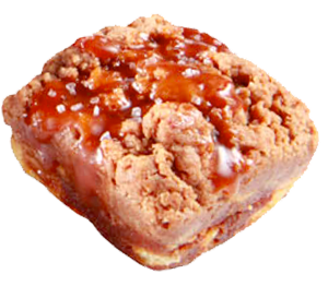 Crumbzz mini caramel sea salt crumb cake